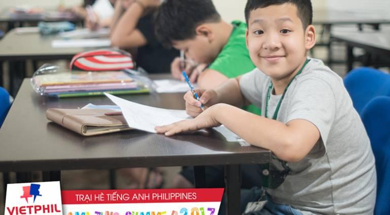 Một ngày học và chơi của học viên VietPhil Camp – cơ sở Clark