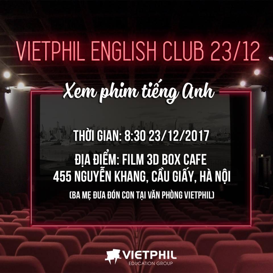 VietPhil Camp English Club 23/12 – VietPhil Camp