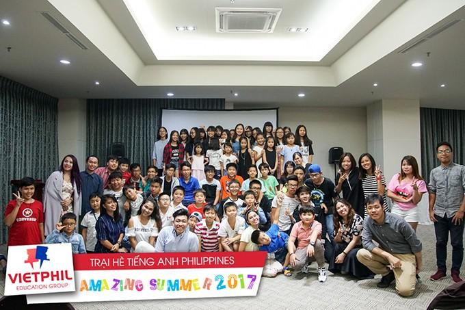 Lễ tốt nghiệp và tiệc chia tay VietPhil Camp tại cơ sở Clark