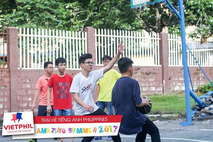Hoạt động ngoại khoá, thể dục thể thao buổi chiều tại Trại hè tiếng Anh Philippines