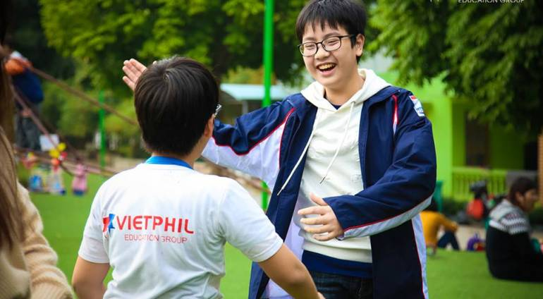 VietPhil English Club chủ đề: Outdoor Team Building ngày 6/2/2018