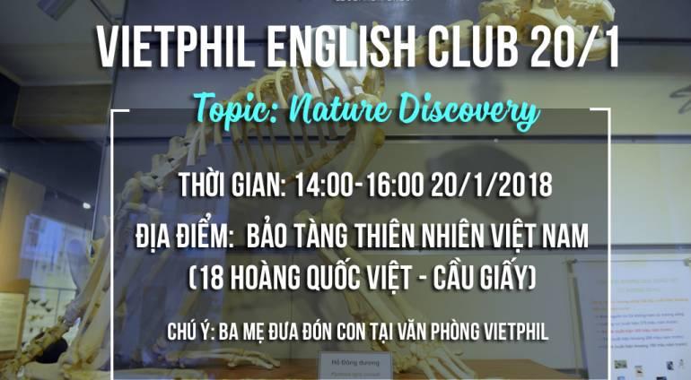 VietPhil English Club 20/1/2018