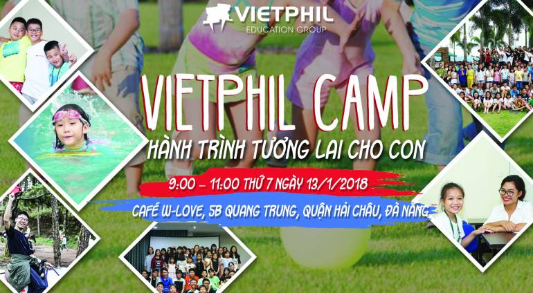 Coffee Talk: VietPhil Camp – Hành Trình Tương Lai Cho Con