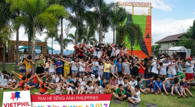 Các hoạt động ngoại khoá thú vị cuối tuần 1 Trại hè tiếng Anh Philippines 2017