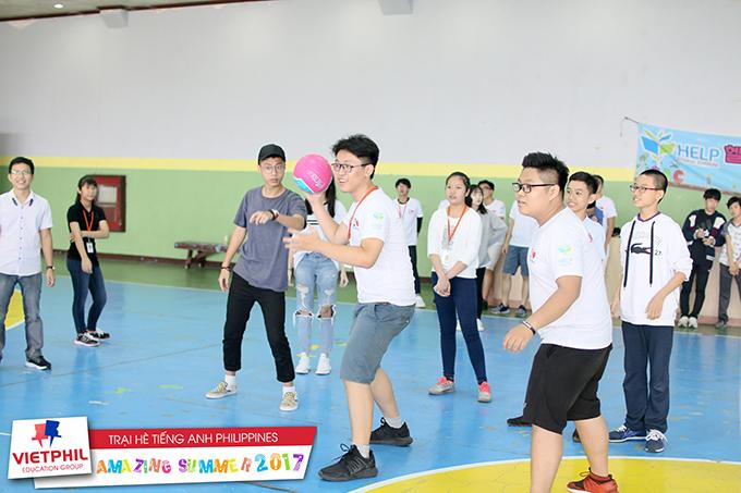 Ngày hội thể thao tại Trại hè tiếng Anh Philippines chương trình IELTS/ESL