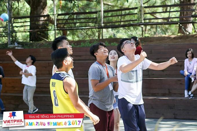 Hoạt động ngoại khoá buổi chiều tại Trại hè tiếng Anh Philippines chương trình IELTS/ESL