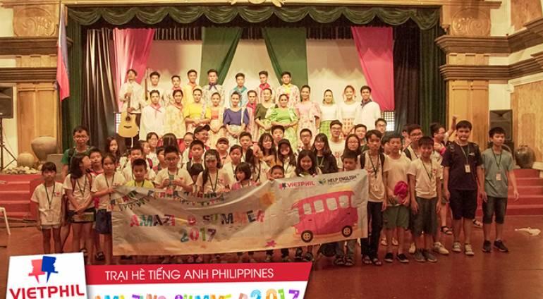 Khám phá cuối tuần thú vị của các bạn học sinh tại Trại hè tiếng Anh Philippines tuần 2