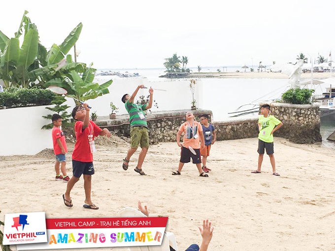 Tuần đầu tiên của các bạn trại viên VietPhil Camp tại QQ Seafront Campus