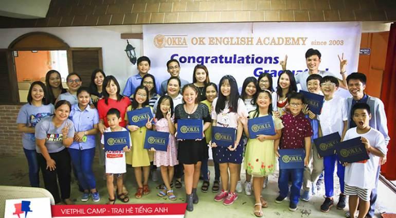 Lễ tốt nghiệp của các bạn trại viên VietPhil Camp đợt 1