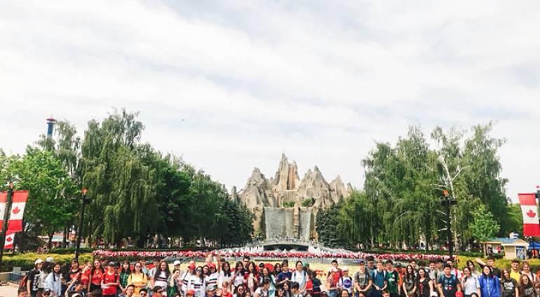 Một ngày vui chơi tại Wonderland của các bạn trại viên Trại hè Canada
