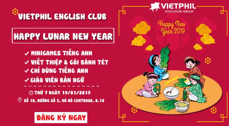 English Club Tháng 1/2019 – Happy Lunar New Year