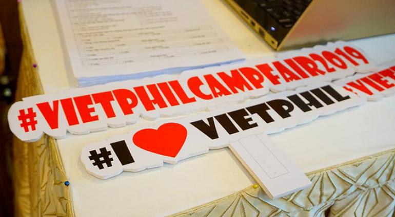 Triển lãm trại hè Anh ngữ quốc tế – VietPhil Camp Fair 2019 (TP. Hồ Chí Minh)