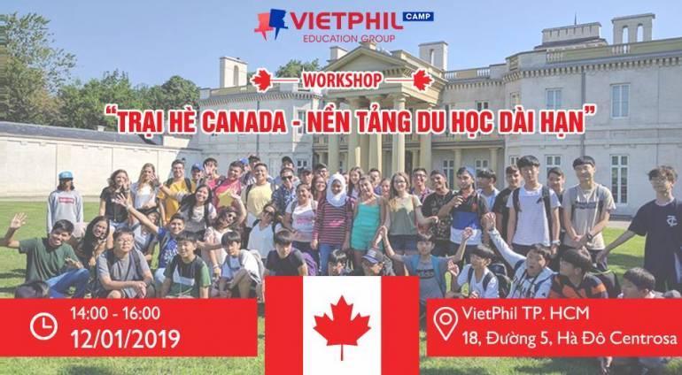 Trại hè Canada – Nền tảng du học dài hạn