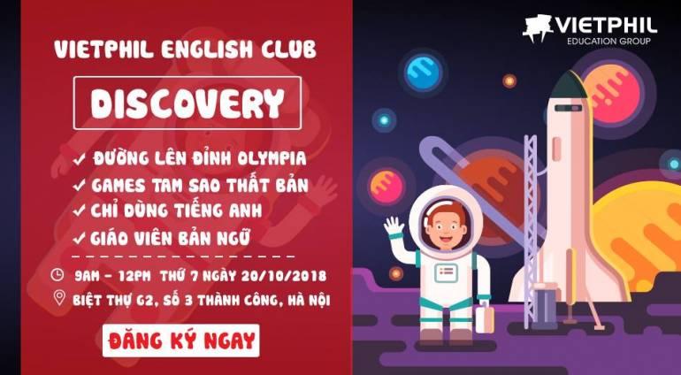 VietPhil English Club tháng 10/2018