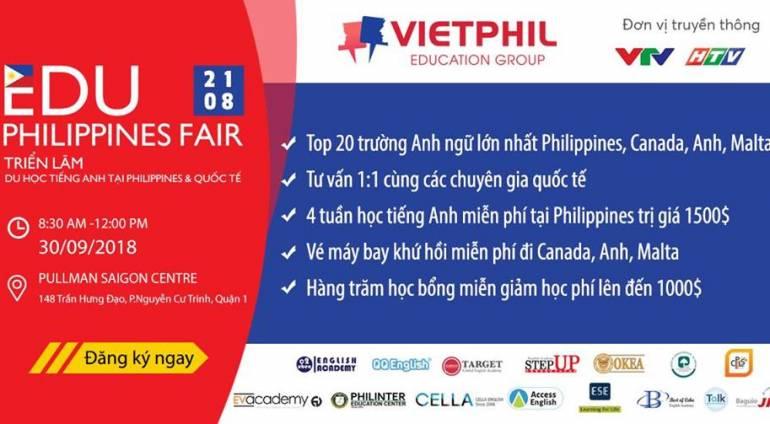 Triển lãm Du học tiếng Anh tại Philippines & Quốc tế lần 3