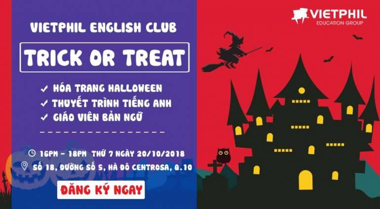 TP. HCM | VietPhil English Club tháng 10/2018