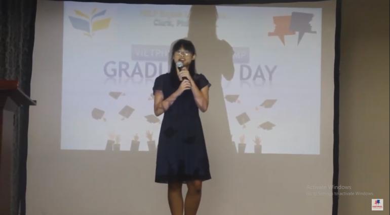 [VietPhil Summer Camp 2017] Help Clark Campus – Bài phát biểu của Vanessa