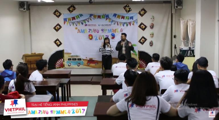 [VietPhil Summer Camp 2017] HELP Long Long Campus – Ngày đầu tiên tại Philippines