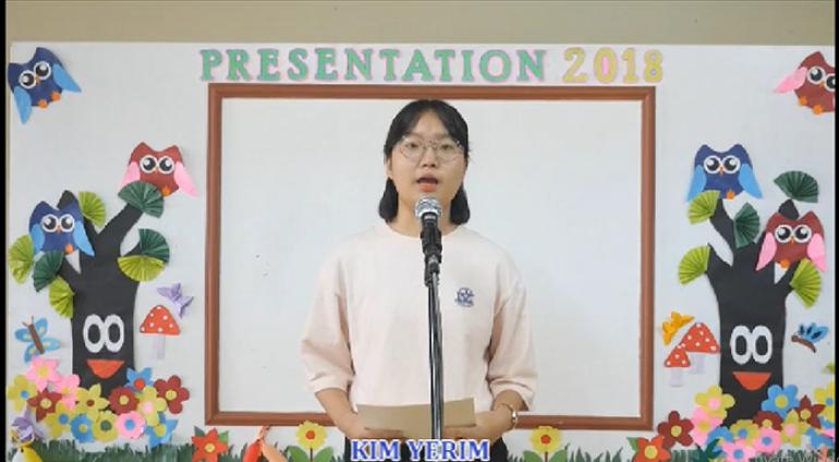 [Anh ngữ PCEA] Speech Contest – Kim Eyrim