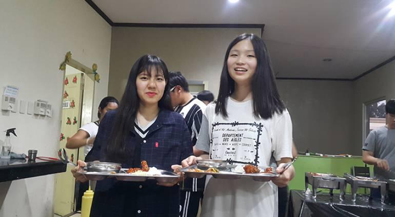 [ANH NGỮ PCEA] Giờ ăn của học viên