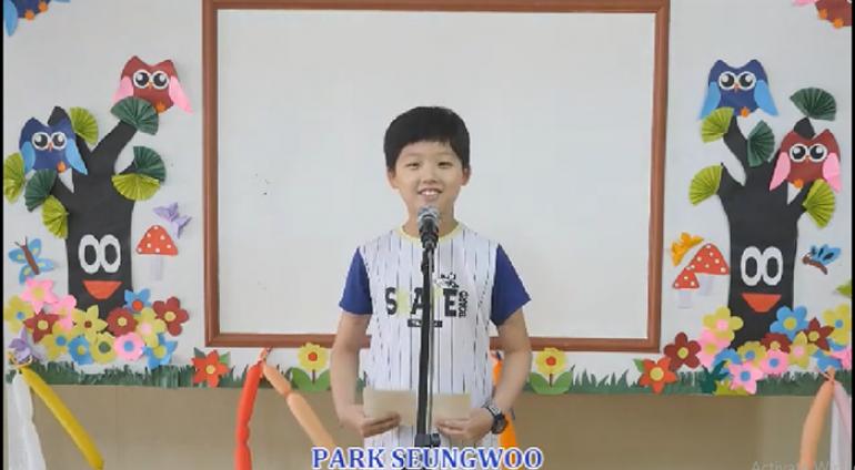 [Anh ngữ PCEA] Speech Contest – Park Seungwoo