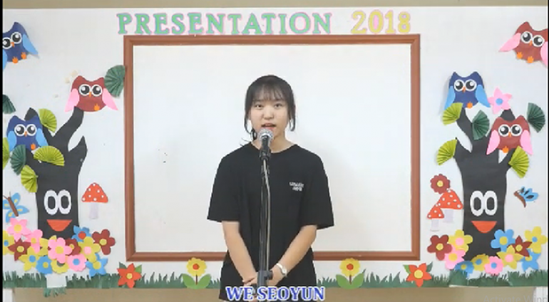 [Anh ngữ PCEA] Speech Contest – We Seoyun