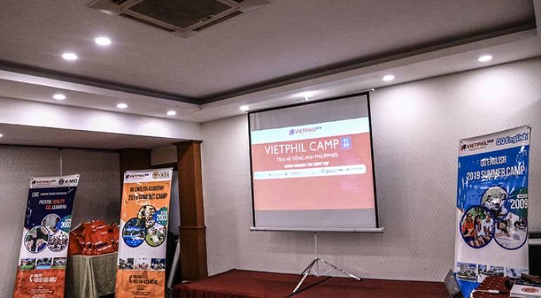 [VIETPHIL CAMP 2019] TP.Hồ Chí Minh – Họp đoàn Trại hè tiếng Anh Philippines 2019