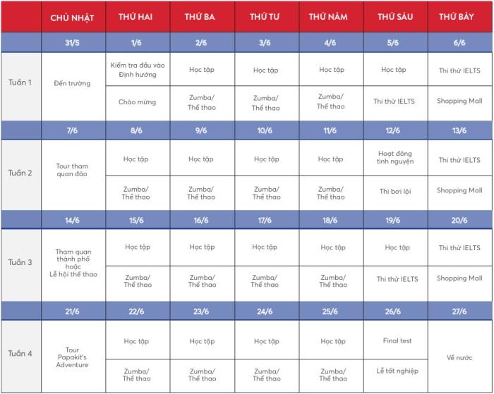 ev academy schedule
