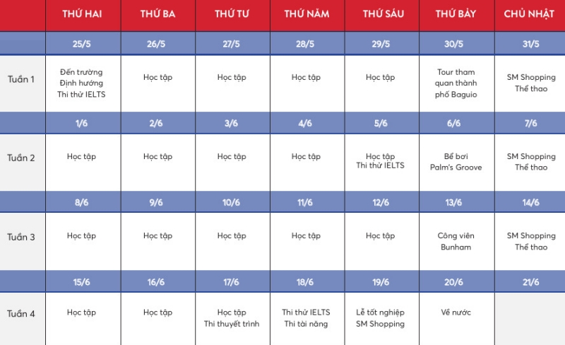 help academy schedule