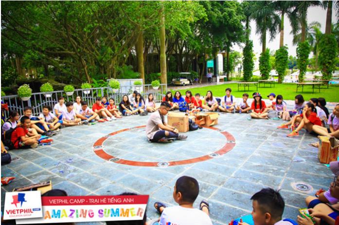 Trại hè Singapore bé 02