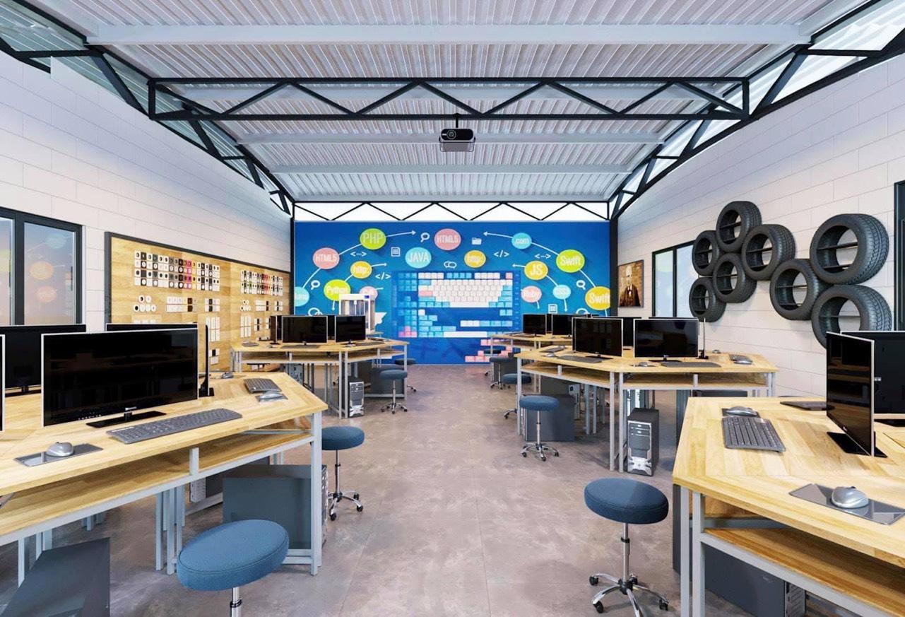 Phòng công nghệ tại STEAMLAND