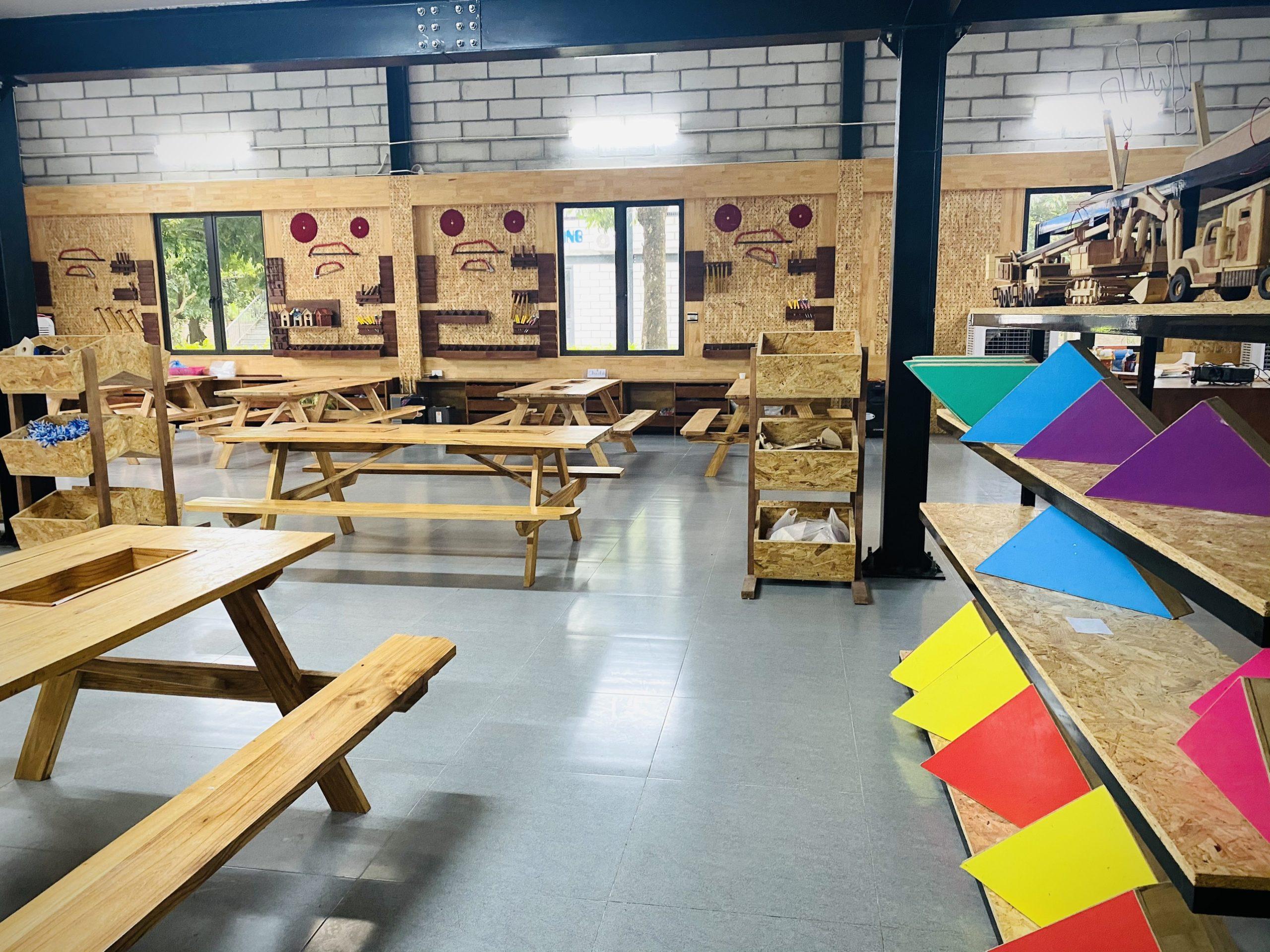 Phòng mộc sáng tạo tại STEAMLAND
