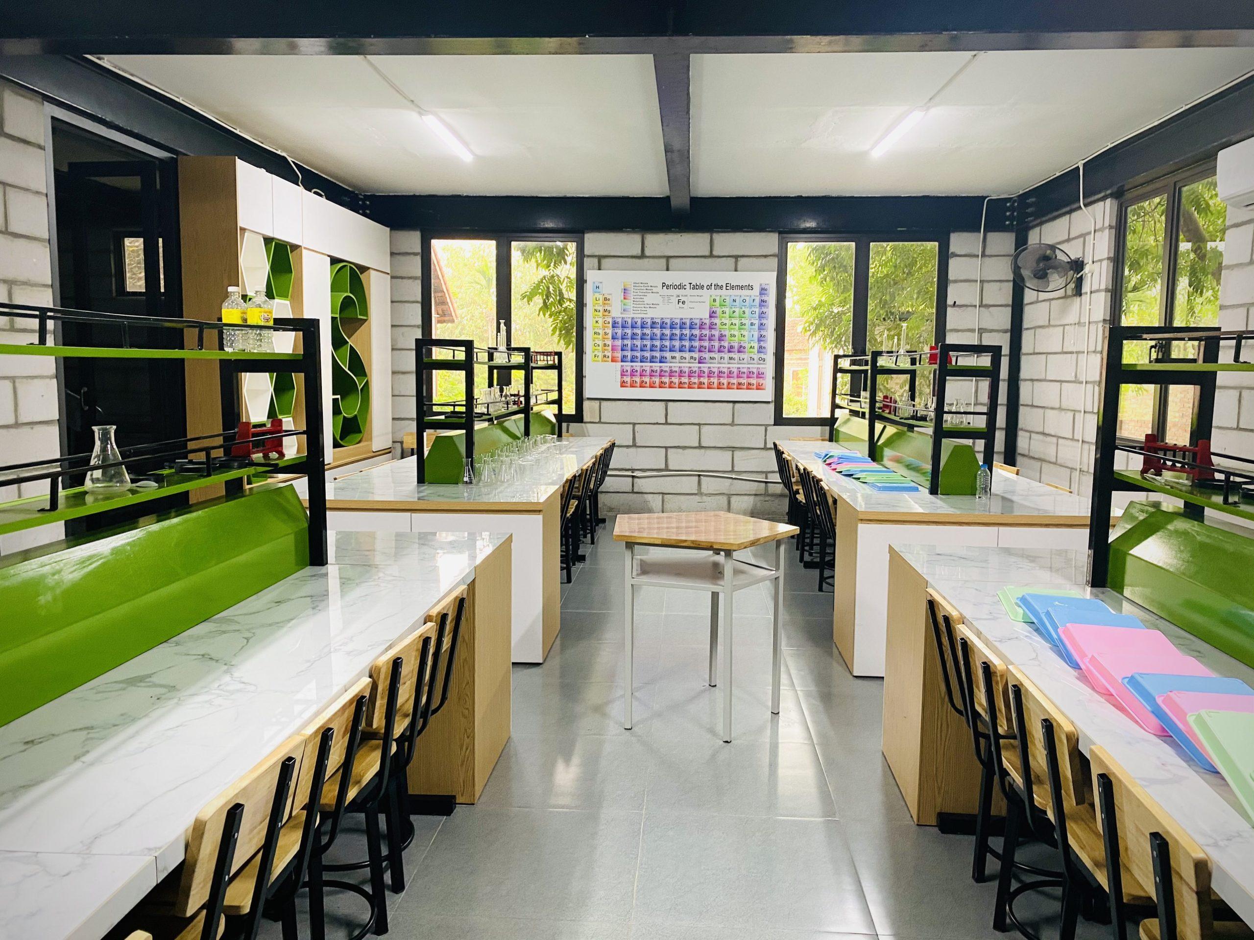 Phòng thí nghiệm tại STEAMLAND